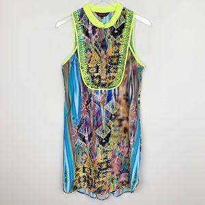 Anthropologie | Ranna Gill Embellished Dress Boho
